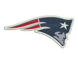 New England Patriots Embroidery Design #1