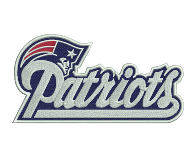 New England Patriots Embroidery Design #2
