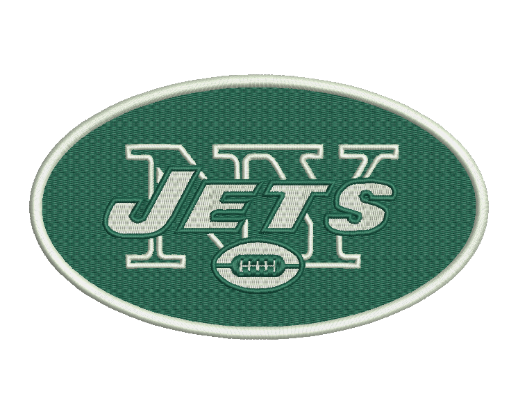 New York Jets Embroidery Design