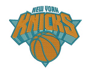 New York Knicks Embroidery Design