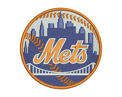 New York Mets Embroidery Design #3