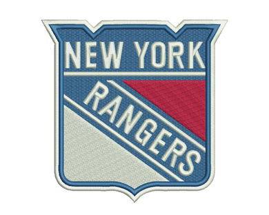 New York Rangers Embroidery Design