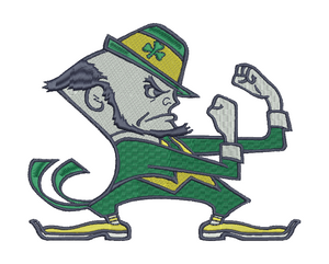 Notre Dame Fighting Irish Embroidery Design