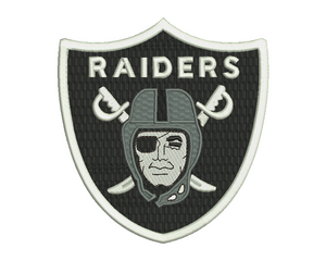 Oakland Raiders Embroidery Design