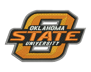 Oklahoma State University Embroidery Design