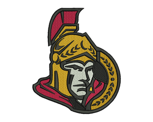 Ottawa Senators Embroidery Design