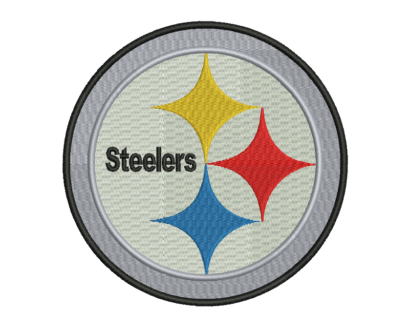 Pittsburgh Steelers Embroidery Design