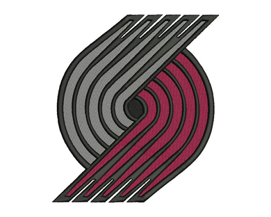 Portland Trail Blazers Embroidery Design