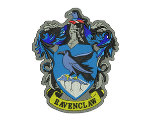 Ravenclaw Badge Embroidery Design