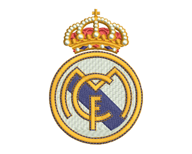 Real Madrid Embroidery Design