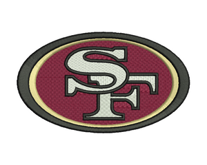 San Francisco 49ers Embroidery Design