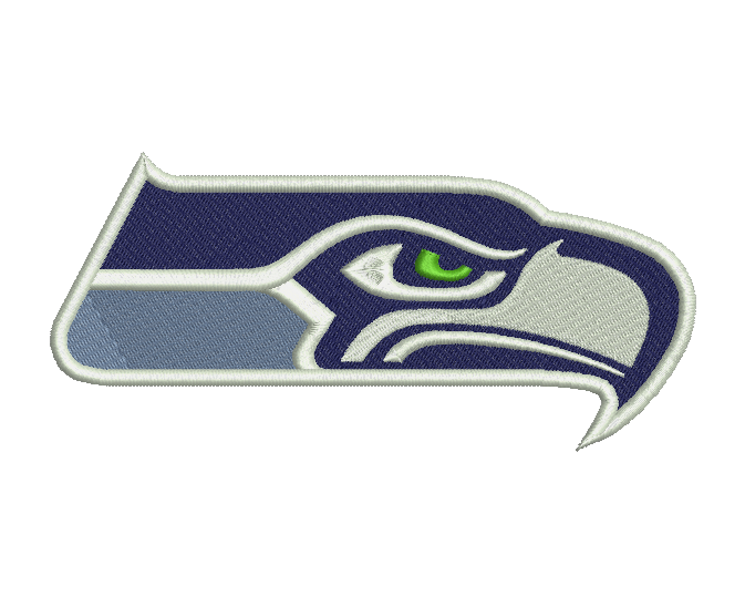 Seattle Seahawks Embroidery Design