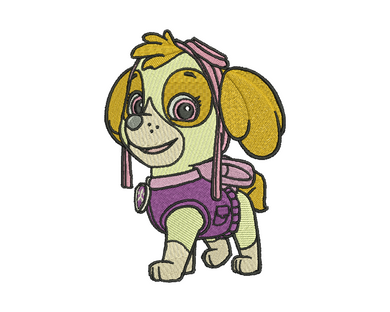 Skye Embroidery Design