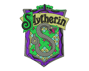 Slytherin Badge Embroidery Design