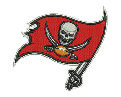 Tampa Bay Buccaneers Embroidery Design