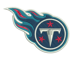 Tennessee Titans Embroidery Design