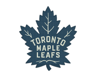 Toronto Maple Leafs Embroidery Design