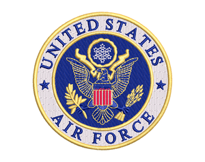U.S. Air Force Embroidery Design #2