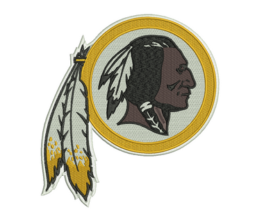 Washington Redskins Embroidery Design