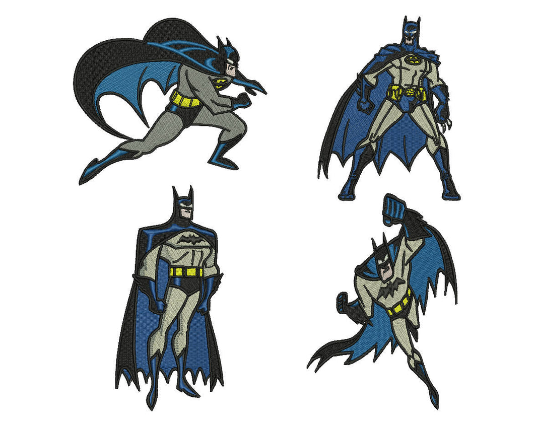 Batman Embroidery Design Files