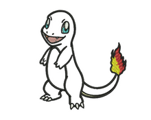 Charmander Applique Design
