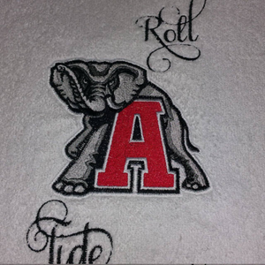 4 Alabama Emblem Embroidery Design