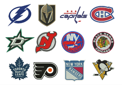 12 Hockey Embroidery Design