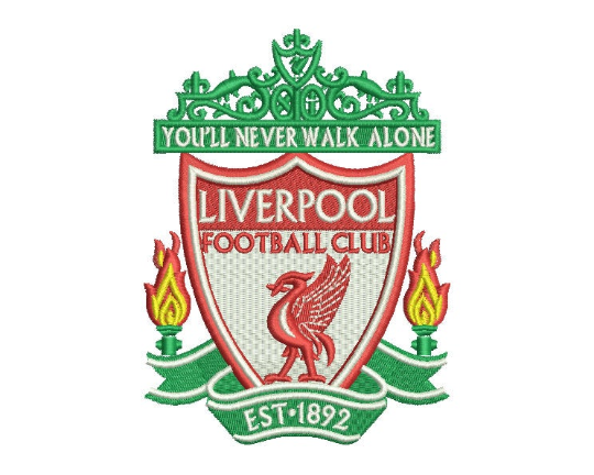 Liverpool Embroidery Design #2