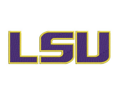 LSU Tigers Embroidery Design File