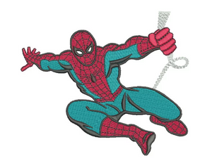 Spiderman Embroidery Design #4
