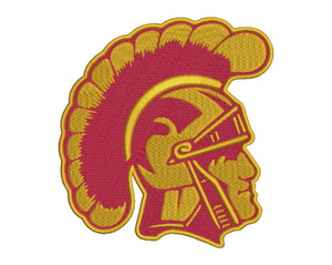 USC Trojans Embroidery Design File
