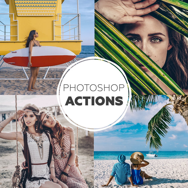 Photoshop Actions - 27 Collections
