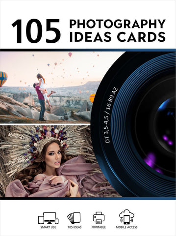 105 Photography IDEAS cards