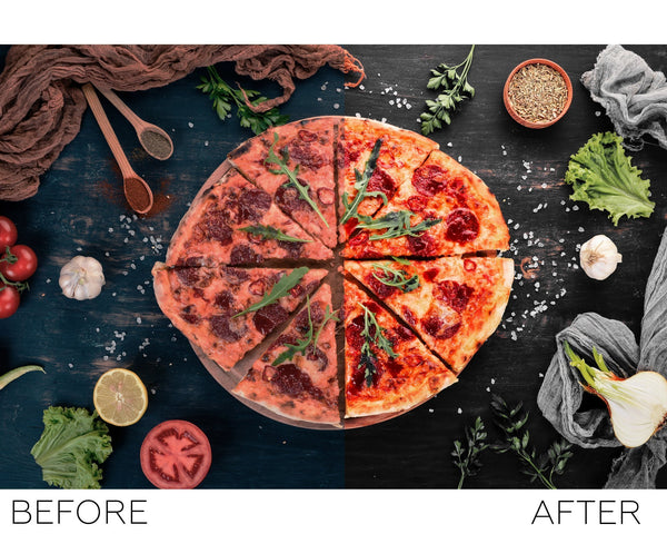 Food - lightroom presets