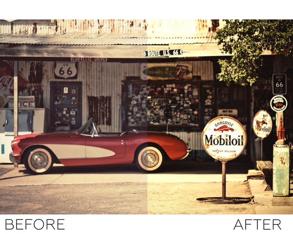 Vintage - Photoshop Actions