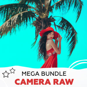 Camera Raw - advanced mega Bundle - +1800