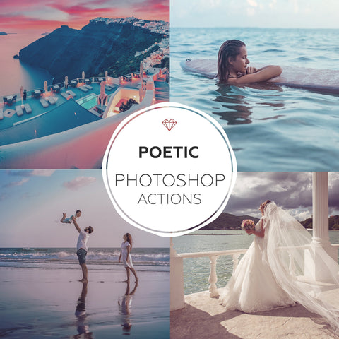 Poetic - Photoshop Actions