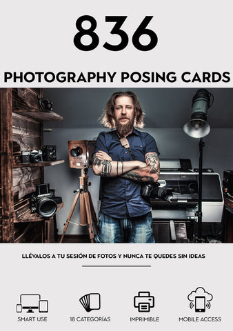836-Photography Posing Cards (Deutsche Version)