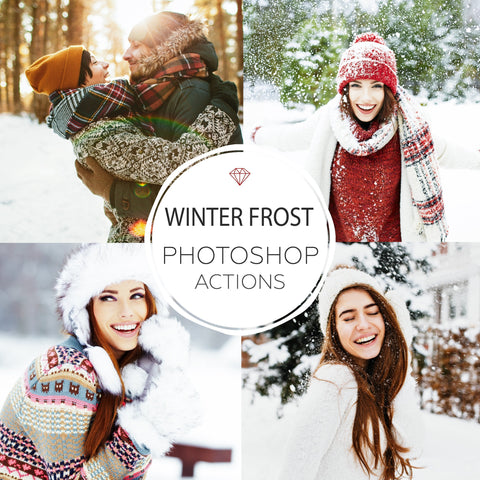 Winter Frost - Photoshop Actions