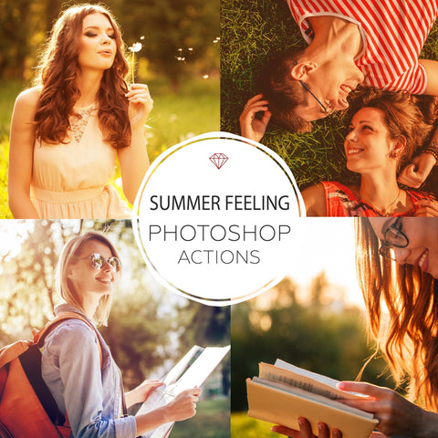 Summer Feeling - Photoshop Actions