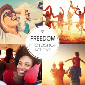 Freedom - Photoshop Actions