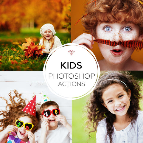 Kids - Photoshop Actions