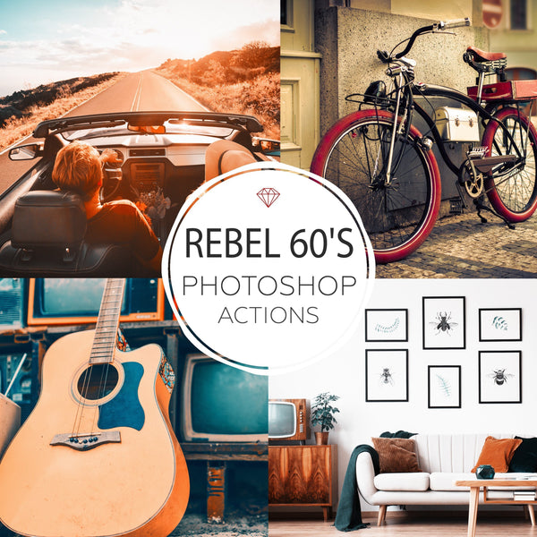 Rebel 60's  - Photoshop Actions