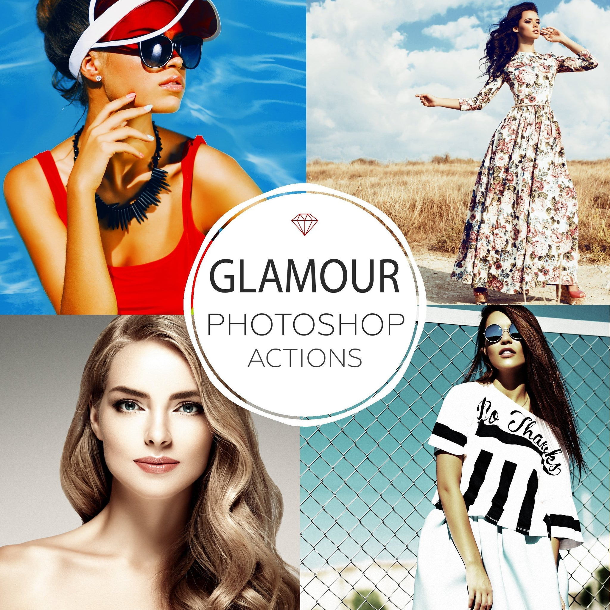 Glamour - Photoshop Actions