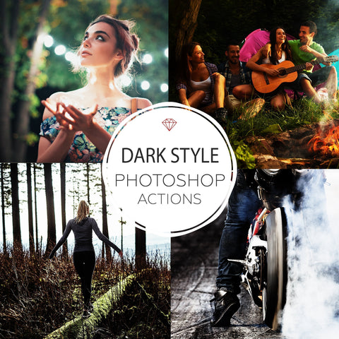 Dark Style - Photoshop Actions