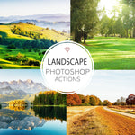Landscape - Photoshop Actions