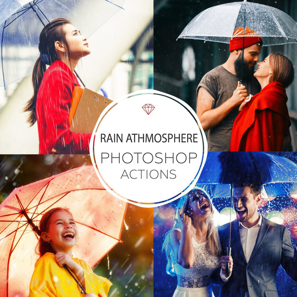 Rain Atmosphere - Photoshop Actions