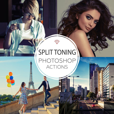Split Toning- Photoshop Actions