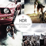 Hdr - Photoshop Actions