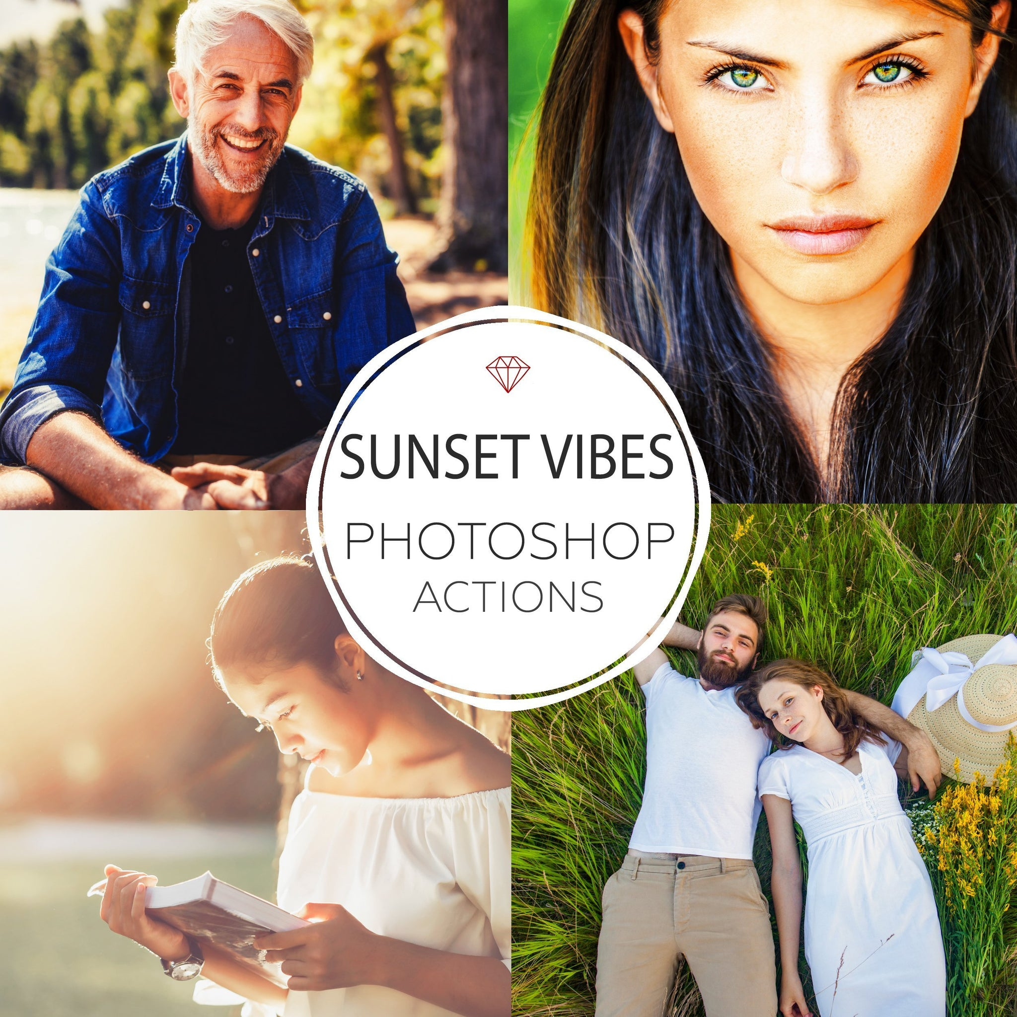 Sunset Vibes - Photoshop Actions